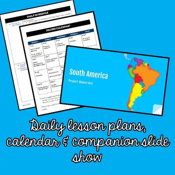 South America Environmental Issues Project {Project Based Learning}