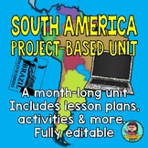 South America Environmental Issues Project {Project Based