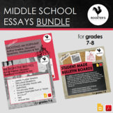 Middle School Essays Bundle {Digital & PDF}