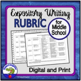 Rubrics - Middle School Expository Writing Rubric