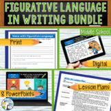 Figurative Language / Literary Devices Bundle - 8 Lessons! - Middle School