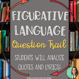 Middle School Figurative Language Review Loop - Question T