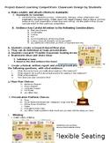 Middle School ELA Flexible Seating Classroom Design Contest