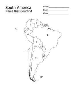 Geography: South America Quiz