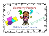 Middle School Geometry Posters