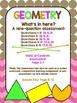 Middle School Geometry Test