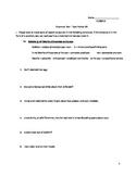 Middle School Grammar Test