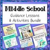 Middle School Guidance Lesson + Activity Bundle