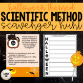 Middle School Halloween Activity - Scientific Investigatio