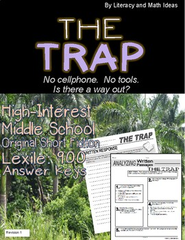 Middle School High-Interest Short Fiction:  The Trap