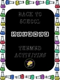Back to School Science Activities for Middle/High School