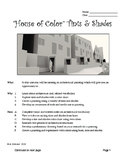 Art - Middle School House of Color Tints & Shades Painting