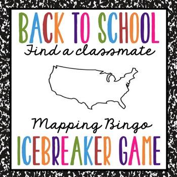 Middle School Icebreaker Bingo