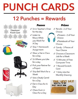 Middle School Incentive Package