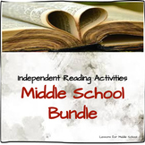 Middle School Independent Reading Accountability Bundle