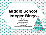 Integer Bingo-Middle School-Christmas Trees