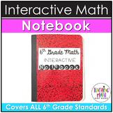 Interactive Math Notebook 6th Grade BUNDLE