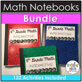 Middle School Interactive Math Notebooks BUNDLE