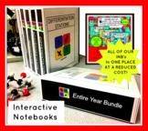 Middle School Interactive Notebooks BUNDLE