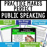 PUBLIC SPEAKING, DEBATE, AND SPEECH -PRACTICE MAKES PERFEC