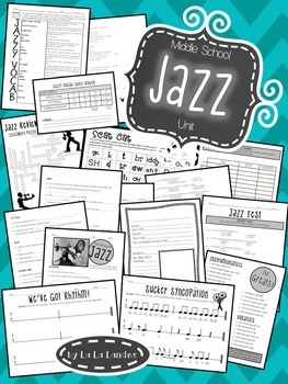 Jazz Music Unit for Middle School