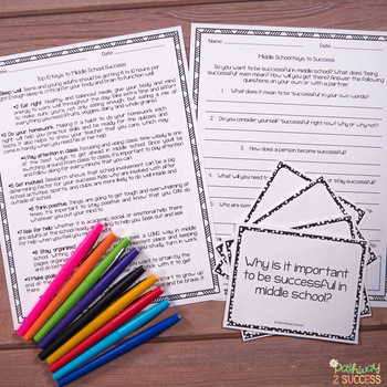 Middle School Keys to Success