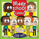 Middle School Kids COMBO (African American and Caucasian)