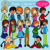 Middle School Kids Clipart Personal and Commercial Use