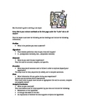 Middle School Lab Report Guidelines