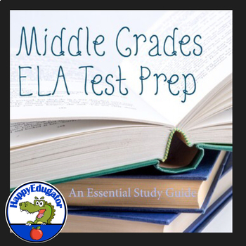 Middle School Language Arts Essential Study Guide Test Prep