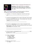Middle School Language Arts Review