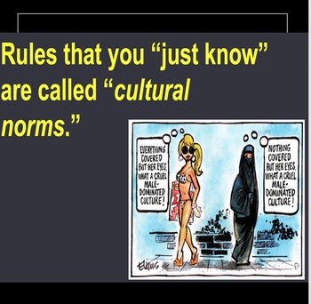 Middle School Lesson on Culture -2 (Cultural Contexts and Norms)