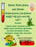 Middle School Life Science- Blood, Puke, Scars, and Dinner!