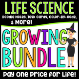 Middle School Life Science Growing Bundle