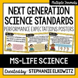 Middle School Life Science NGSS Posters
