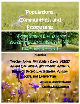 Middle School Life Science- Populations, Communities, and Ecosystems