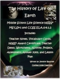 Middle School Life Science- The History of Life on Earth