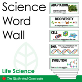 Middle School Life Science Word Wall