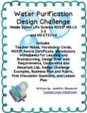 Middle School Life Science and ETS- Water Purification Design Challenge