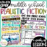 Middle School Literature Realistic Fiction Unit | Freak the Mighty | Outsiders