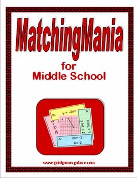 Middle School MatchingMania