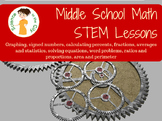 Middle School Math Review unit for AIS, Review, or Summer Program
