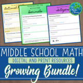 Middle School Math Assessments - Digital Resources - Growi