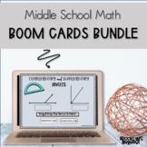Middle School Math Boom Cards™ Growing Bundle