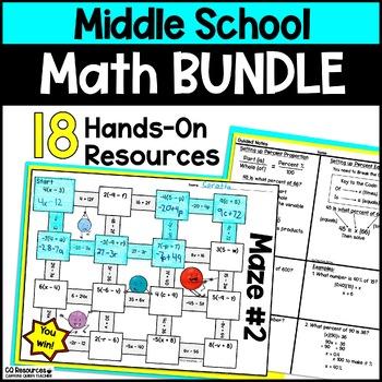 Middle School Math Bundle