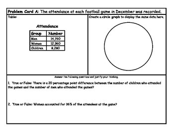Middle School Math Center: Displaying collected Data on graphs