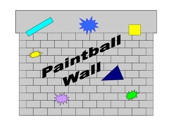 Middle School Math Center: Paintball Wall Area of circles, Area of squares