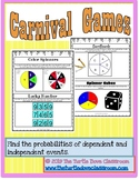 Middle School Math Center: Probabilities of dependent and