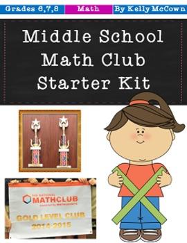 Middle School Math Club Starter Kit