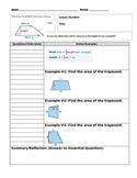 6th Grade Math Cornell Notes Bundle